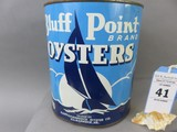 Bluff Point Oyster Can