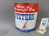 J.W. Ferguson Oyster Can