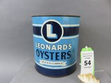 Leonards Oyster Can