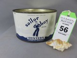 Sailor Boy Oyster Can
