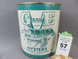 G and E Oyster Can