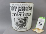 Bay Shore Oyster Can