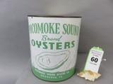 Pocomoke Sound Oyster Can