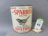 Sparrer Oyster Can