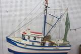 North Carolina Model Shrimp Boat