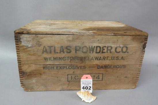 Atlas Gun Powder Box