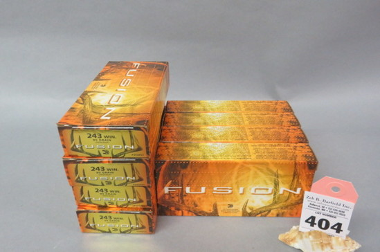 8 Boxes .243 Ammo