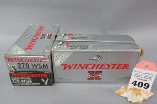 4 Boxes .270 WSM Ammo