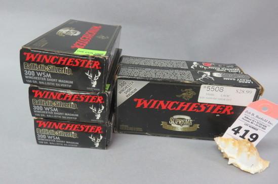 5 Boxes 300 WSM Ammo
