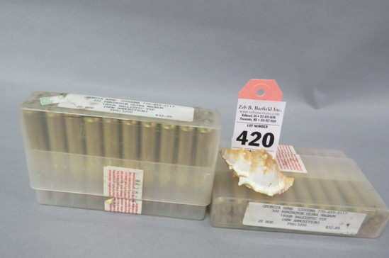 2 Boxes 300 Re. Ultra Mag. Ammo