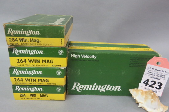 6 Boxes 264 Win. Mag. Ammo