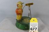 Windup Fishing Tin Toy