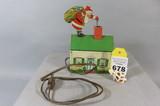 Tin Electric Santa Toy
