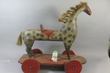 Childs Horse Pull Toy