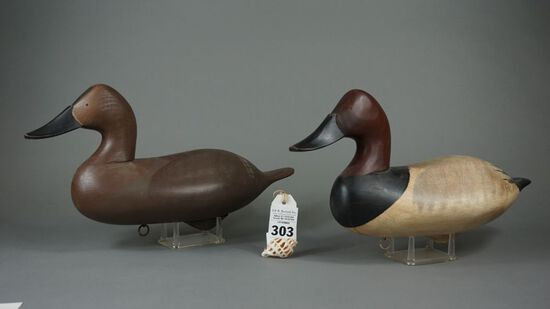 Canvasbacks by Steven Lay