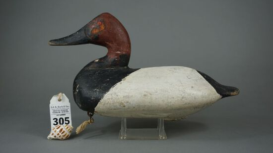 Canvasbacks by William Heverin