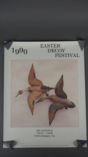 EASTER DECOY FESTIVAL FLYER