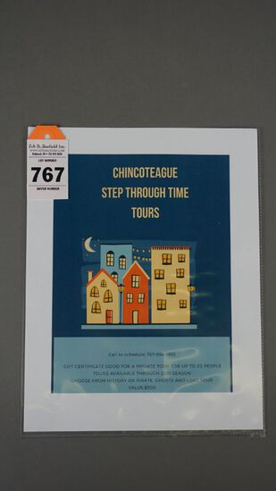 CHINCOTEAGUE STEP THROUGH TIME TOURS
