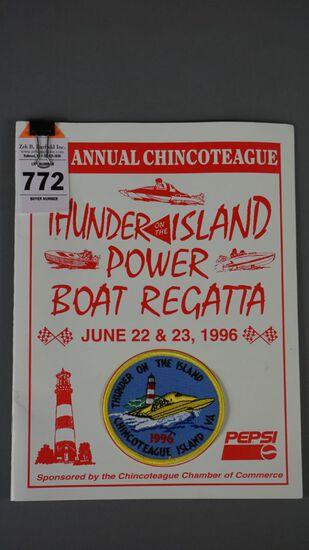 THUNDER ON THE ISLAND MAGAZINE