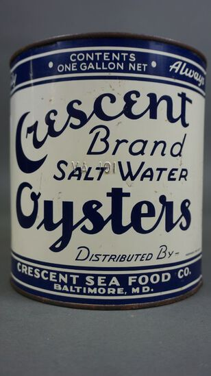 Crescent Brand Oyster Can