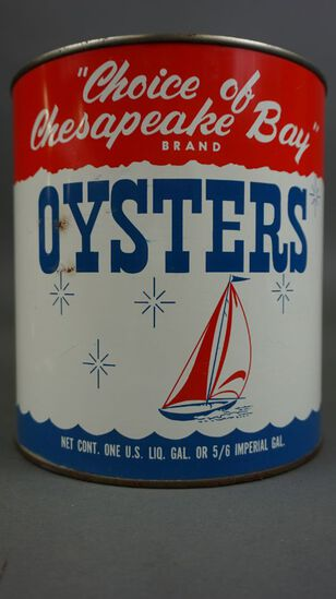 Choice of the Chesapeake Oyster Can