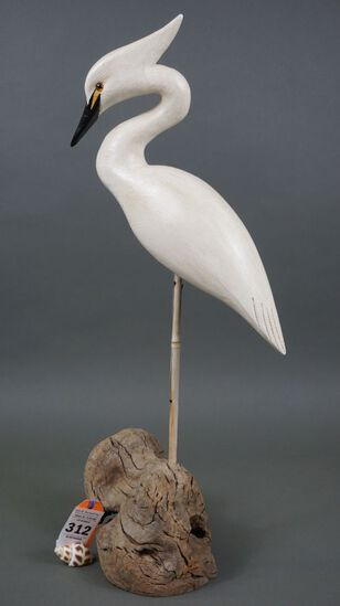Egret by Roe Terry