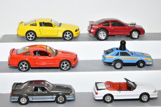 SCALE: 1/43 CARS: (1) MATTEL ACRO CHINA PULL BACK; (1) 1980'S SCHAPER FIVE WINDERS NISSAN DATSUN