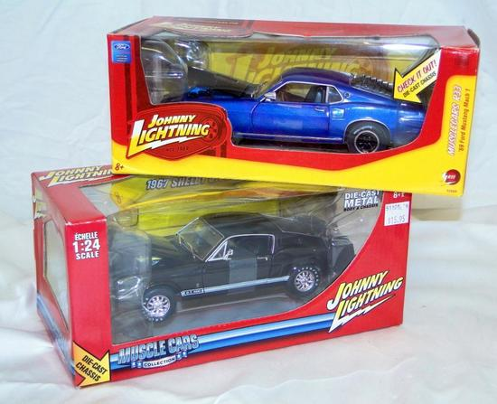 1967 SHELBY GT500 AND 1969 FORD MUSTANG MACH 1