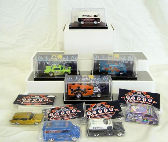 SPECIAL 2010 CHARITY AUCTION 2010 OFFICIAL DIECAST HALL OF FAME DINNER VEHICLE 2010 OFFICIAL LEGENDS