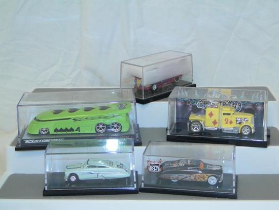 SPECIAL 2010 DIE-CAST SUPER CONVENTION VW DRAG BUS- CHARITY RUN 192 OF 250, 2014 SPADE TRUCK,