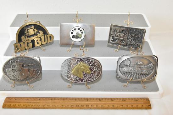 BELT BUCKLES STEIGER, STEIGER (SIGNORELLI-PFAF AND ASSOCIATES, INC. ST. PAUL, MN), INTERNATIONAL