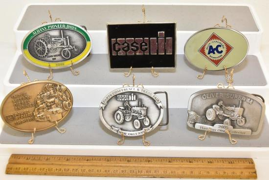 BELT BUCKLES CASE 1989 PARTS CONFERENCE & TRADE FAIR 1989 GIFT EDITION SERIAL NO. 1329, CASE SALES