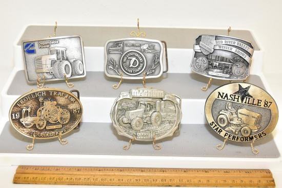 BELT BUCKLES CASE MAGNUM 7100 SERIES (1987 LIMITED EDITION), 70TH ANNIVERSARY GLEANER COMBINE