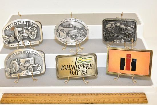 BELT BUCKLES CASE PARTS TRADE FAIR 1990 KANSAS CITY, MO 1990 GIFT EDITION NO. 445, CASE A FRESH TEAM