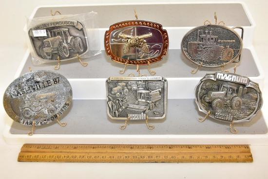 BELT BUCKLES MASSEY FERGUSON IN PLASTIC, STEIGER- SIGNORELLI-PFAFF AND ASSOCIATES, INC, 2 HAND GUNS