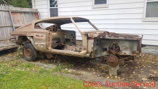 1966 Dodge charger parts car.