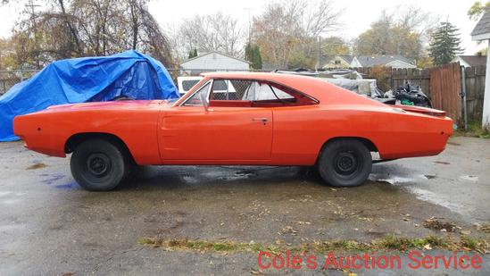 """Rare 1968 Dodge Charger """"Dukes of Hazard"""". Professional restoration has started and just needs to be"""