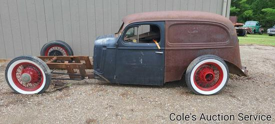 1932 custom rat rod project with a ton of parts.