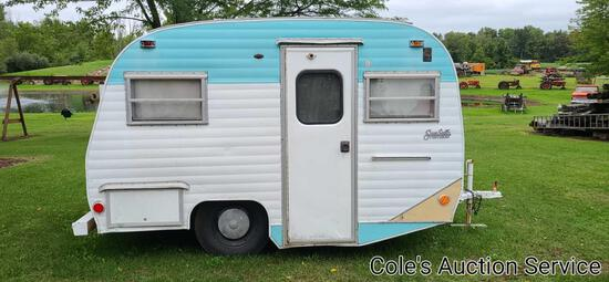 Vintage Serro Scotty Sportsman camper trailer. Take a look at the photos as this vintage camper is