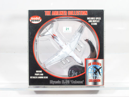Model Power Airliner Collection 1:400 No. 5814 Illyusin IL-76 'Cubana'