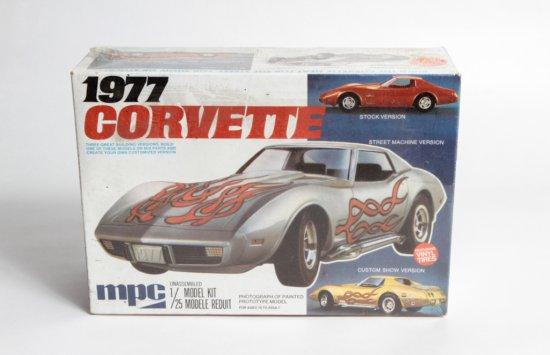 MPC 1977 Corvette Street Machine Version #1-7705