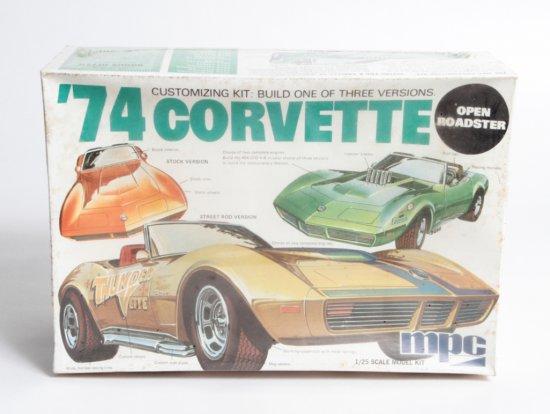 MPC 1974 Corvette Open Roadster #1-7406-250