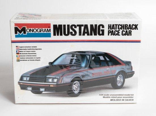 Monogram Mustang Hatchback Pace Car #2250