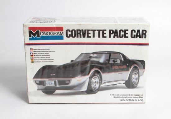 Monogram Corvette Pace Car #2253