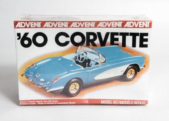 Advent 1960 Corvette Classic Sports Car #3104