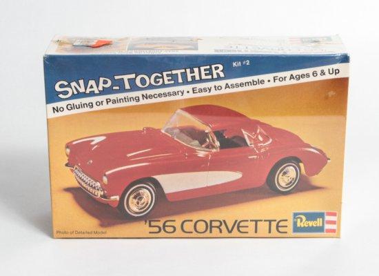 Revell 1956 Snap-Together Corvette #H-1102
