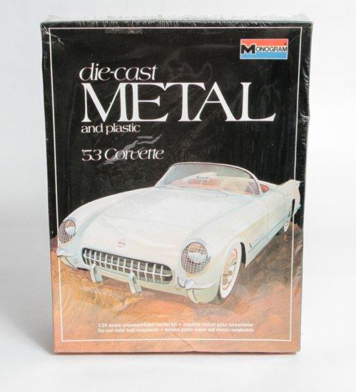 Monogram 1953 Corvette in Die-cast and Metal #6100