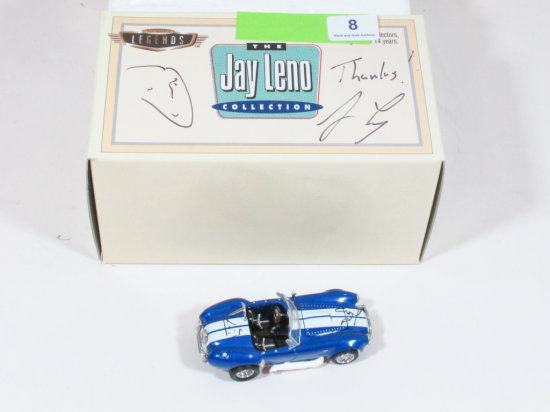 The Jay Leno Collection Signed Shelby Cobra in Original Packaging