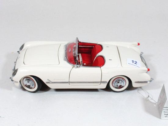 Franklin Mint Precision Models 1:24 1953 Corvette Convertible Die Cast
