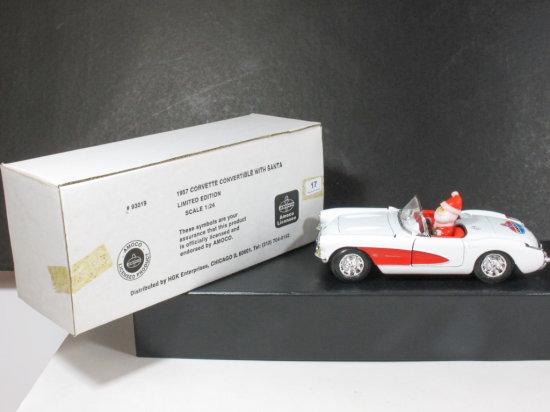Corgi Classics 1/24 Scale 1957 Corvette Convertible Amoco Oil Company Commemorative
